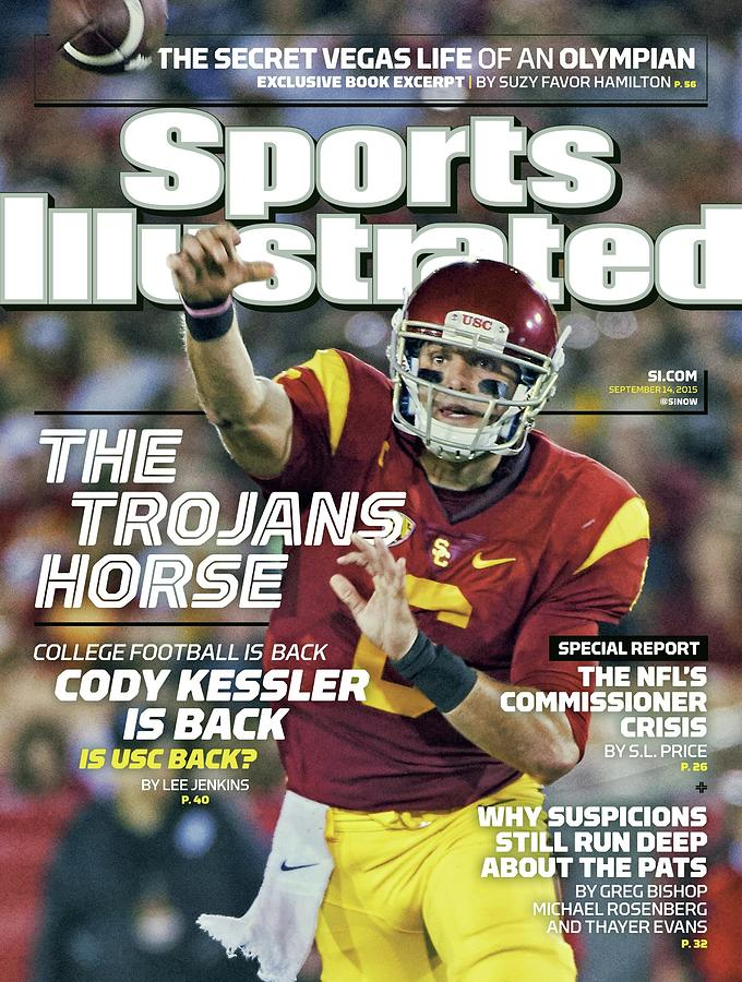 The Trojans Horse College Football Is Back. Cody Kessler Is Sports Illustrated Cover Photograph by Sports Illustrated