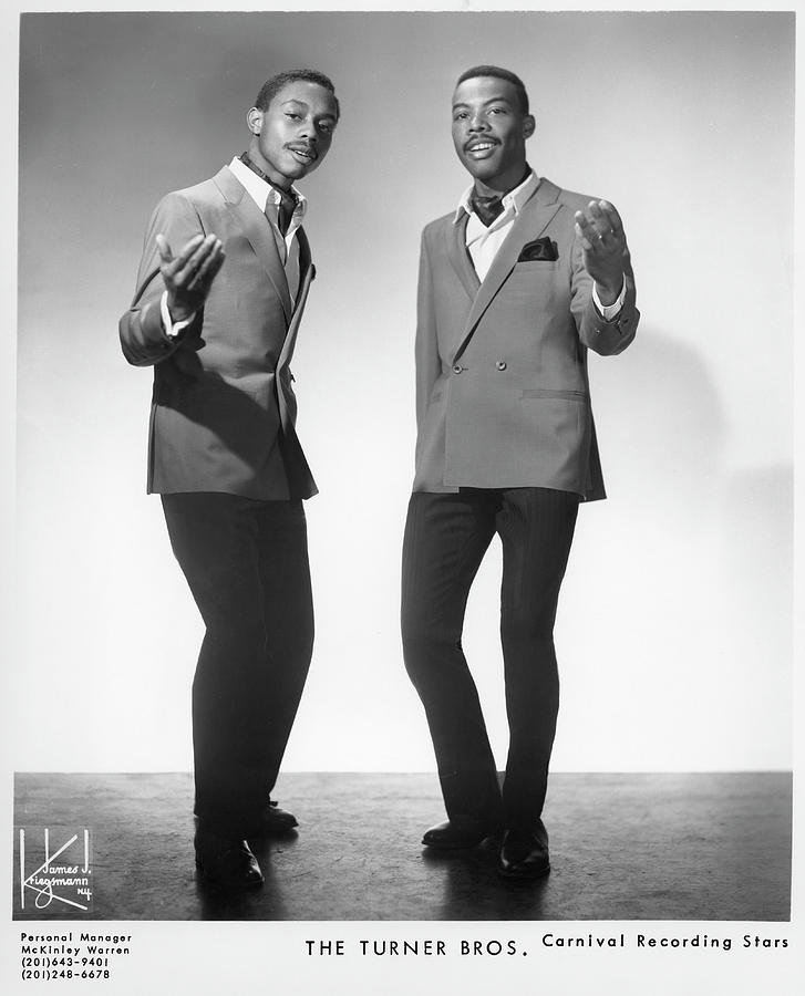 The Turner Brothers Portrait Photograph by Michael Ochs Archives