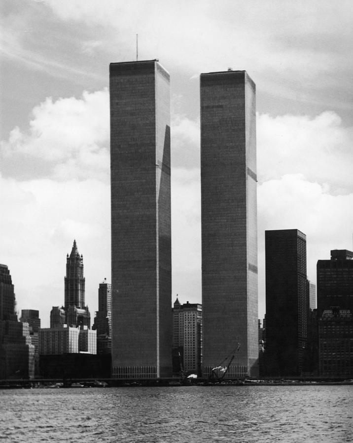 The Twin Towers Photograph by Peter Keegan