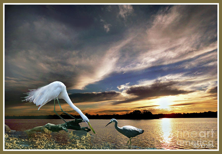 Birds Photograph - The Two of Us by Klaus Jaritz