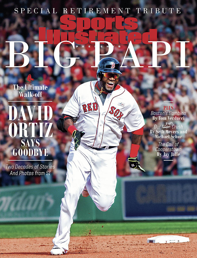 The Ultimate Walk-off David Ortiz Says Goodbye Sports Illustrated Cover Photograph by Sports Illustrated