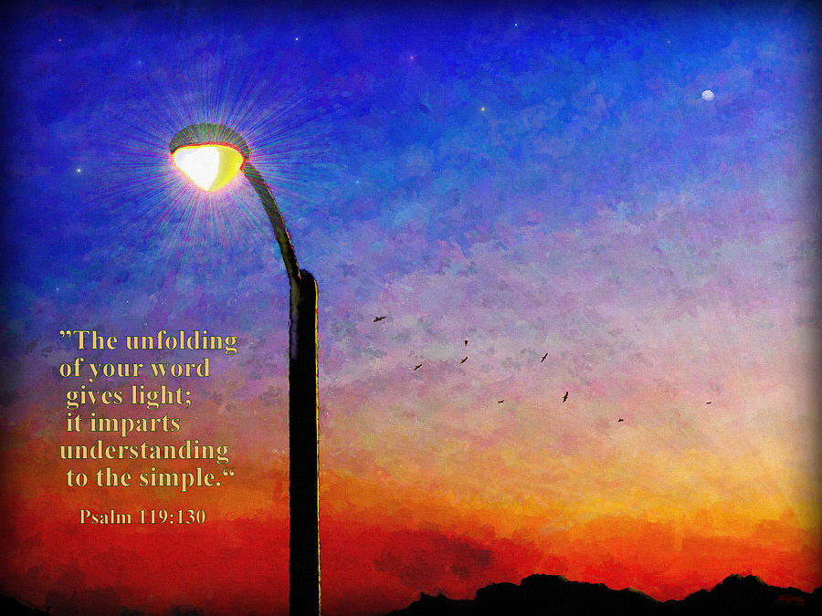 The Unfolding Word by Glenn McCarthy Art and Photography