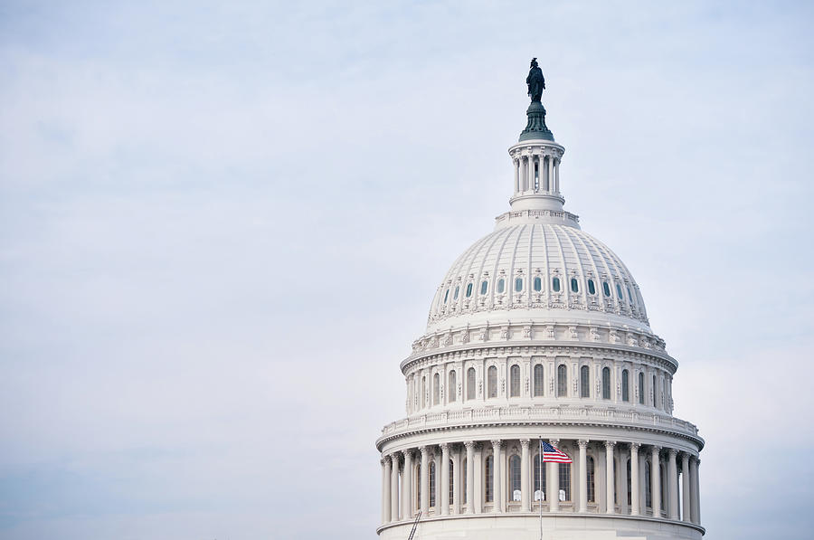 The United States Capitol In Washington Photograph by Code6d