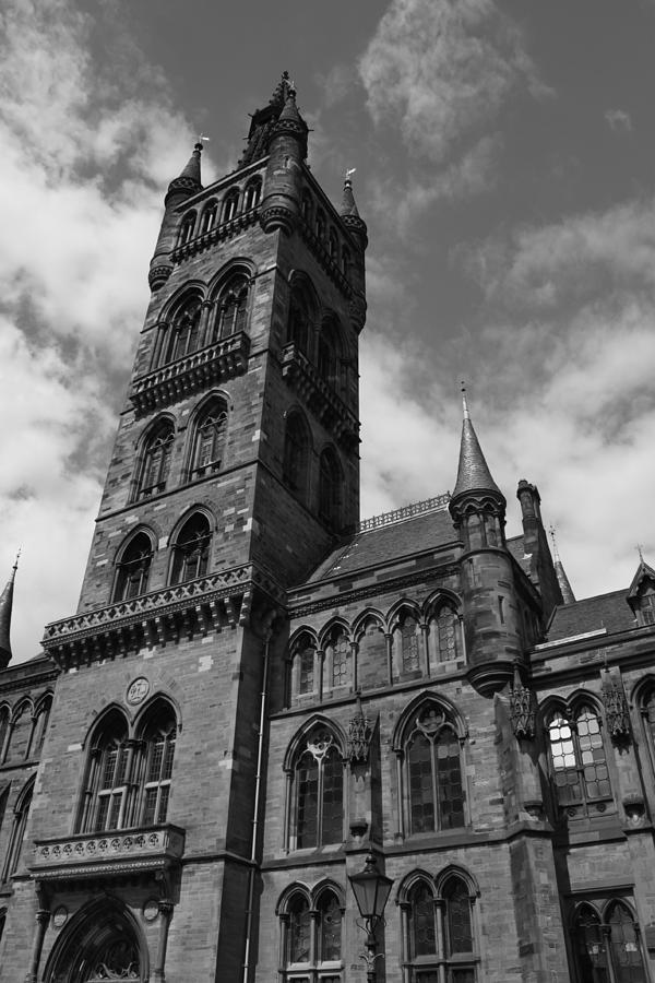 Glasgow Photograph - The University of Glasgow by Alister Harper