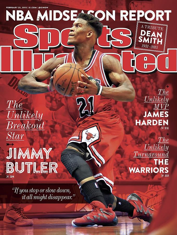 The Unlikely Breakout Star Jimmy Butler Sports Illustrated Cover Photograph by Sports Illustrated