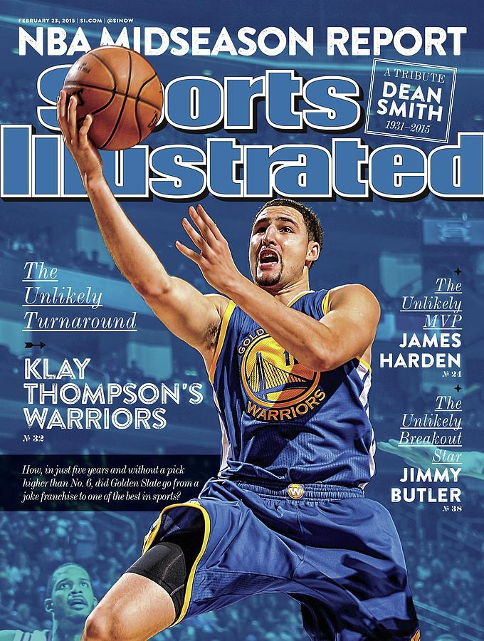 The Unlikely Turnaround Klay Thompsons Warriors Sports Illustrated Cover Photograph by Sports Illustrated