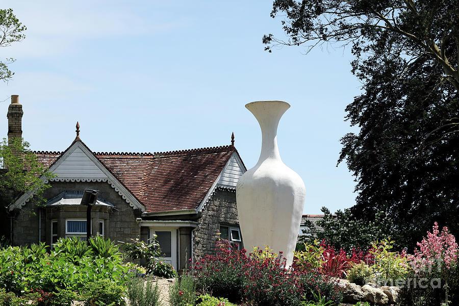 The Vase Of Hope Victoria Gardens Truro Photograph