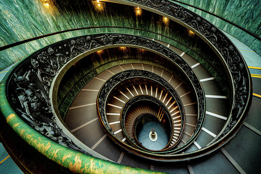The Vatican Spiral Staircase by Chris Lord