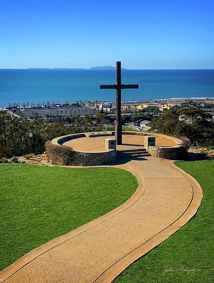 The Ventura, California Cross by John A Rodriguez