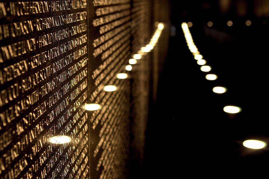 The Vietnam Veterans Memorial by Pete Federico