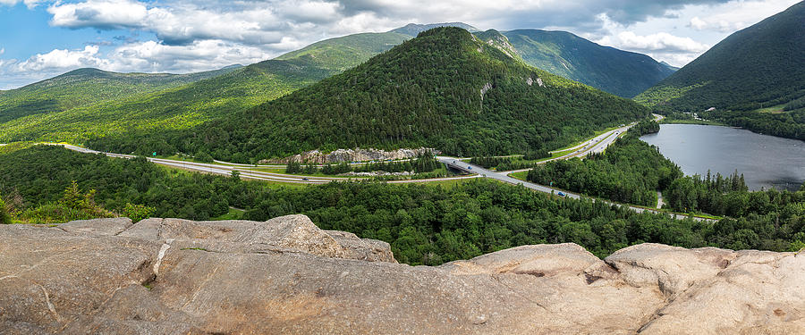 The View from Artists Bluff by MIKE MCQUADE