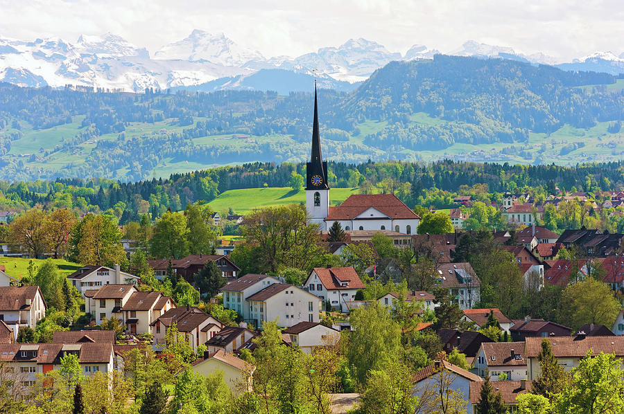 The Village Of Gossau Photograph by Picture By Tambako The Jaguar