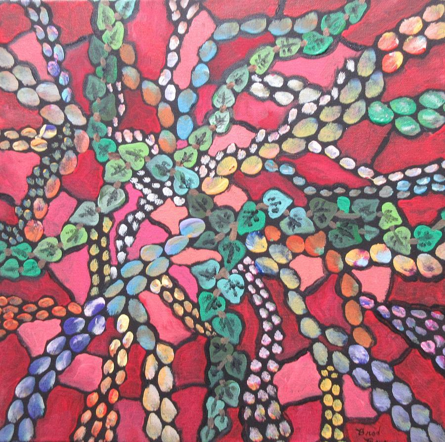 the vine mosaic by Bradley Boug