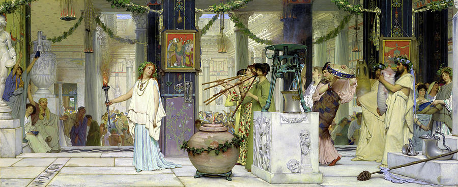 The vintage festival - Digital Remastered Edition by Lawrence Alma-Tadema