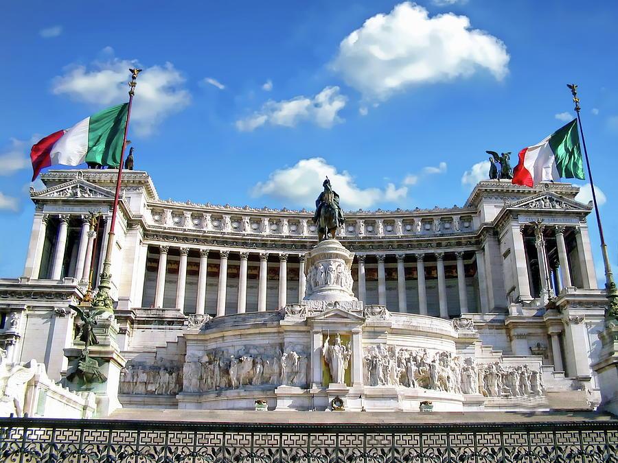 The Vittorio Emanuele II Monument by Anthony Dezenzio