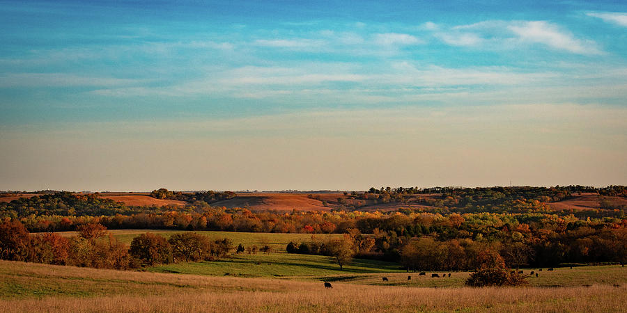 Clinton Lake Photograph - The Wakarusa River Valley by Jeff Phillippi