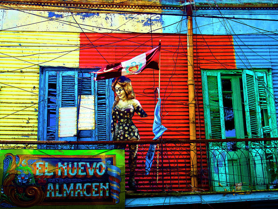 The Warehouse, La Boca, Buenos Aires by Kurt Van Wagner