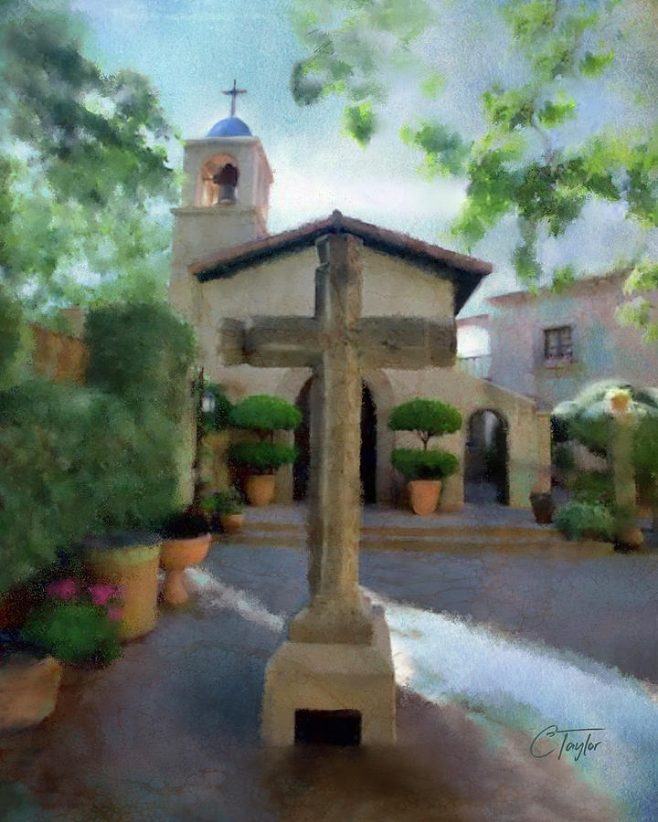 The Wedding Chapel at Tlaquepaque, Sedona by Colleen Taylor