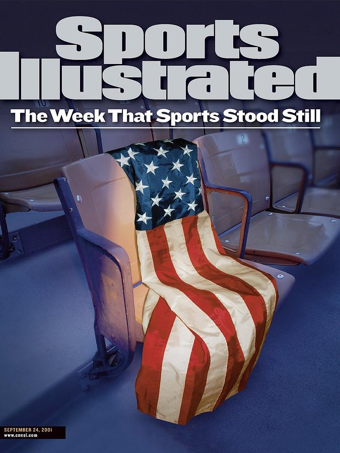 The Week That Sports Stood Still September 11th Terrorist Sports Illustrated Cover Photograph by Sports Illustrated