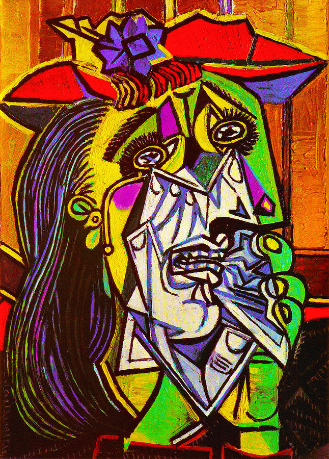 The Weeping Woman Painting by Pablo Picasso