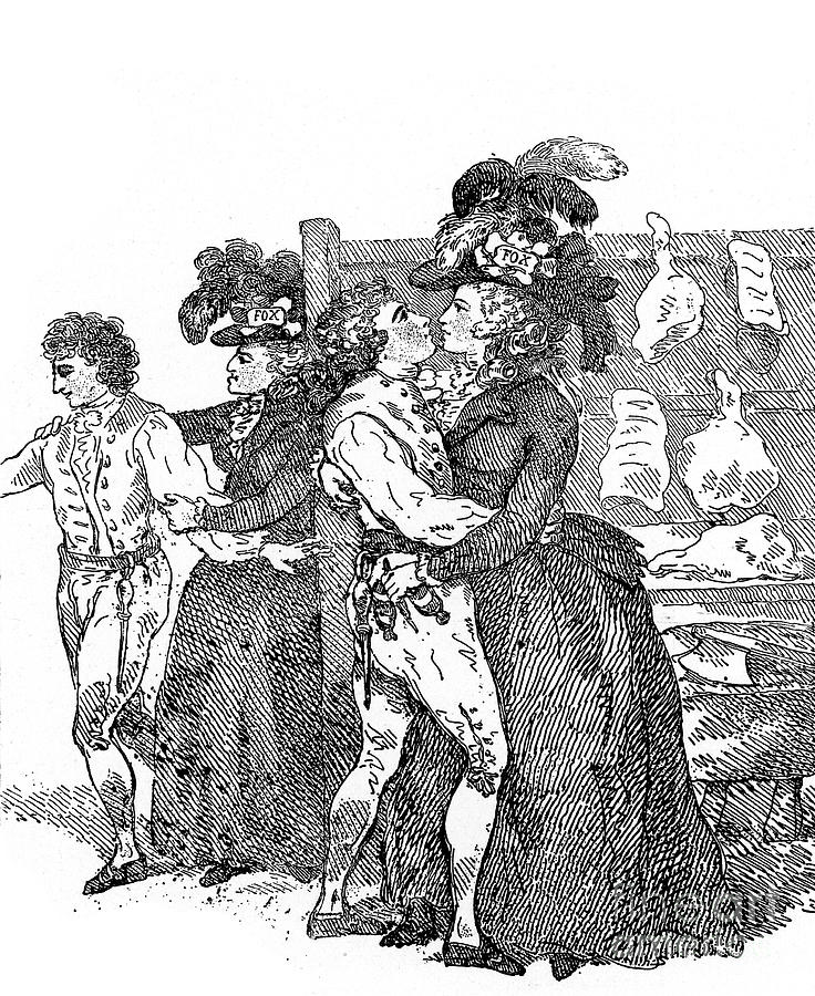 The Westminster Election, 1780s, C1920 Drawing by Print Collector