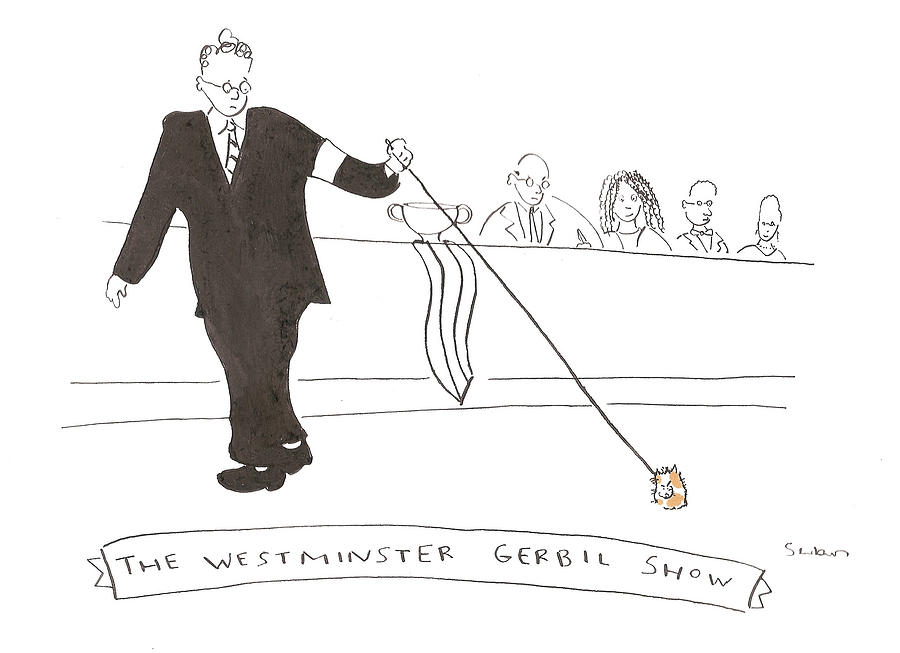 The Westminster Show Drawing by Michael Shaw