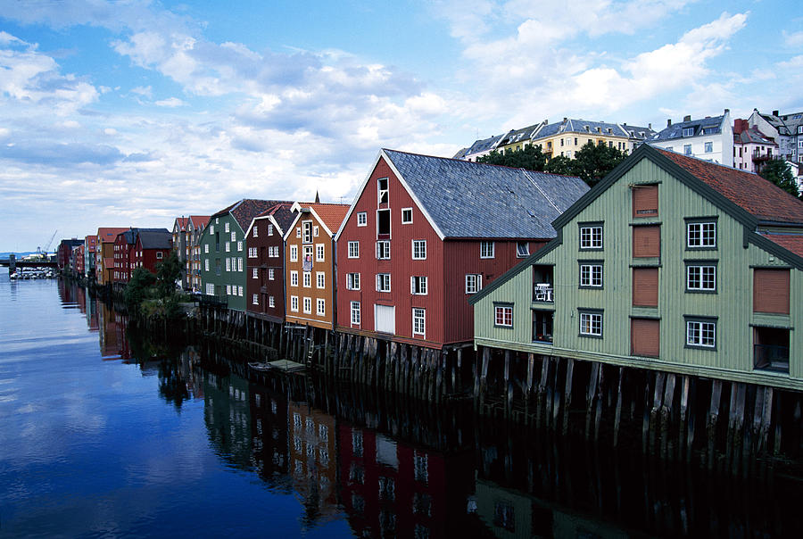 The Whaves, Trondheim, Norway Photograph by Brand X Pictures