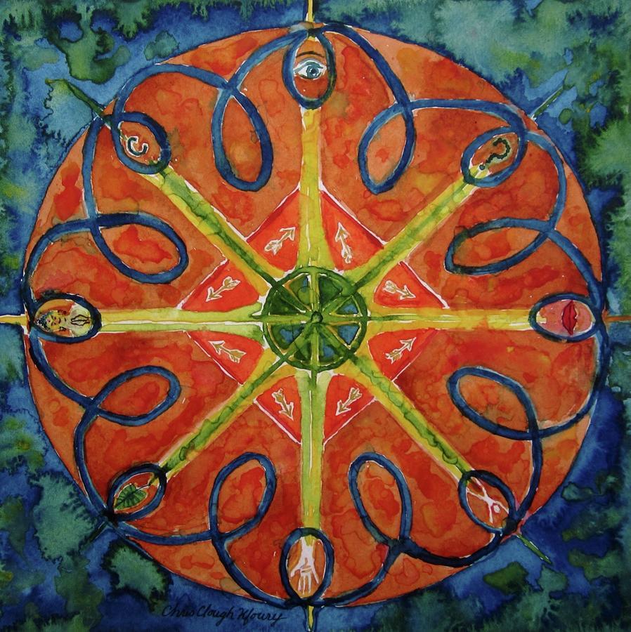 The Wheel by Christine Kfoury
