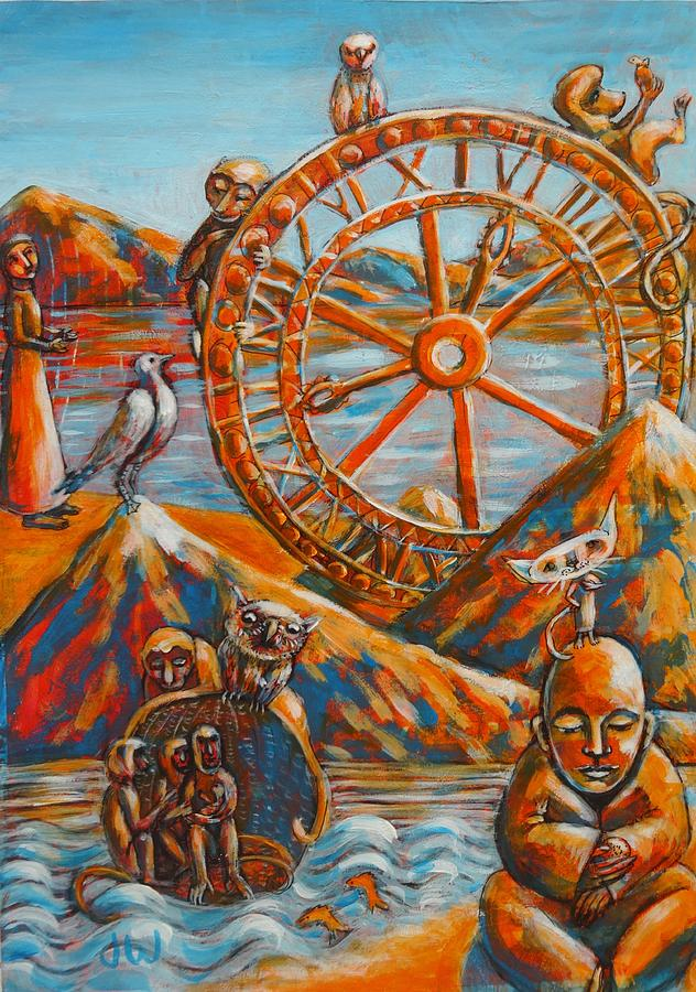 The wheel of life by June Walker
