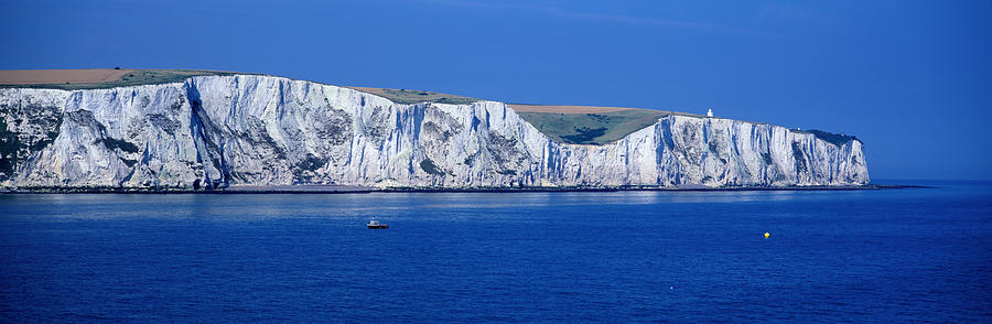 The White Cliffs Of Dover, Dover Photograph by Jeremy Woodhouse