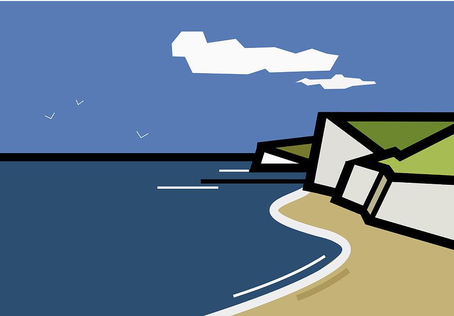 The White Cliffs Of... Digital Art
