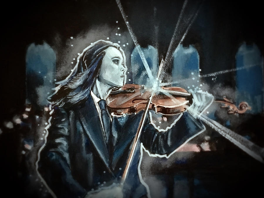 The White Violin by Joel Tesch