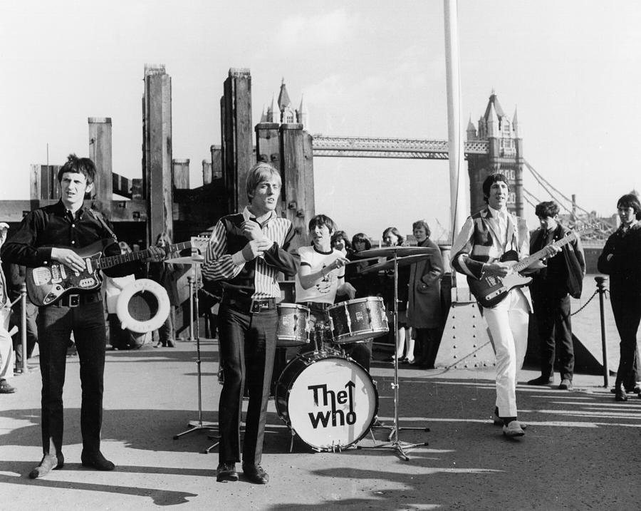 The Who On Dick Clarks Where The Action Photograph by Michael Ochs Archives
