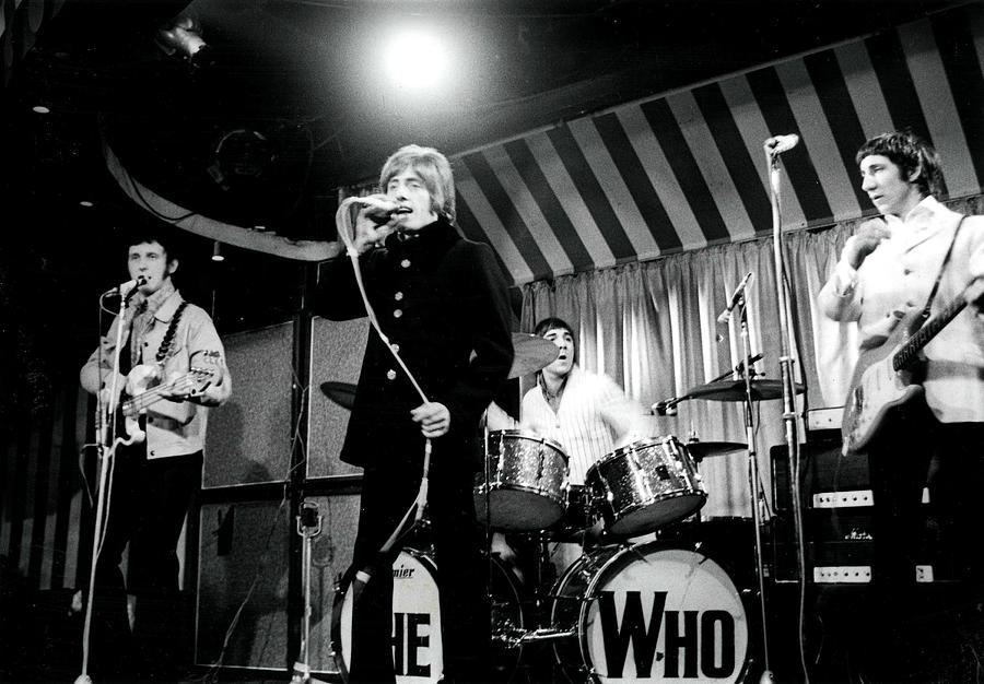The Who Photograph by Paul Popper/popperfoto
