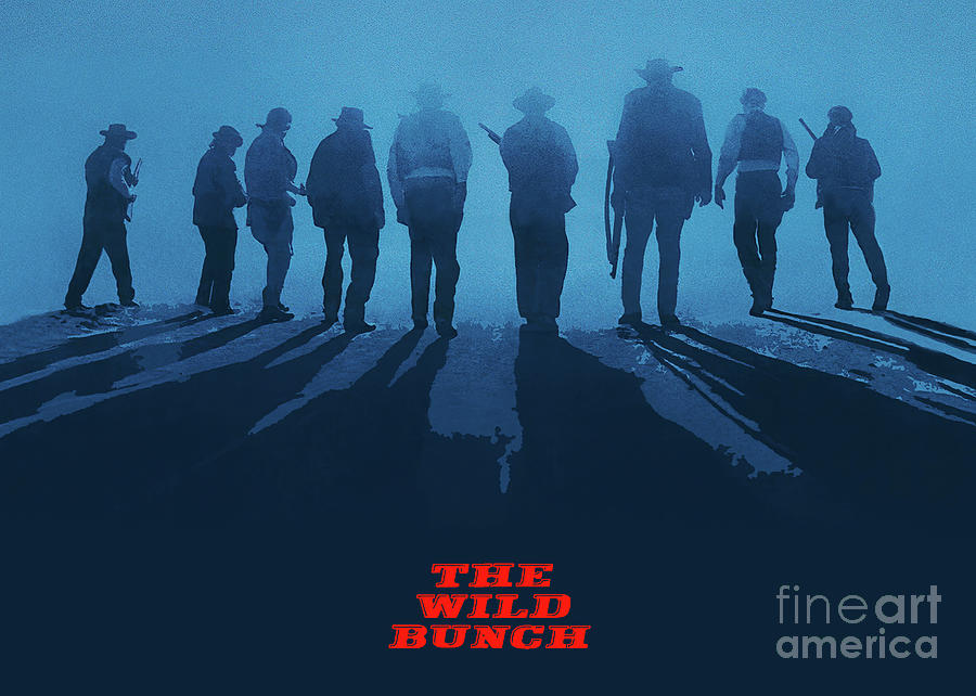 The Wild Bunch Mixed Media - The Wild Bunch by Kultur Arts Studios