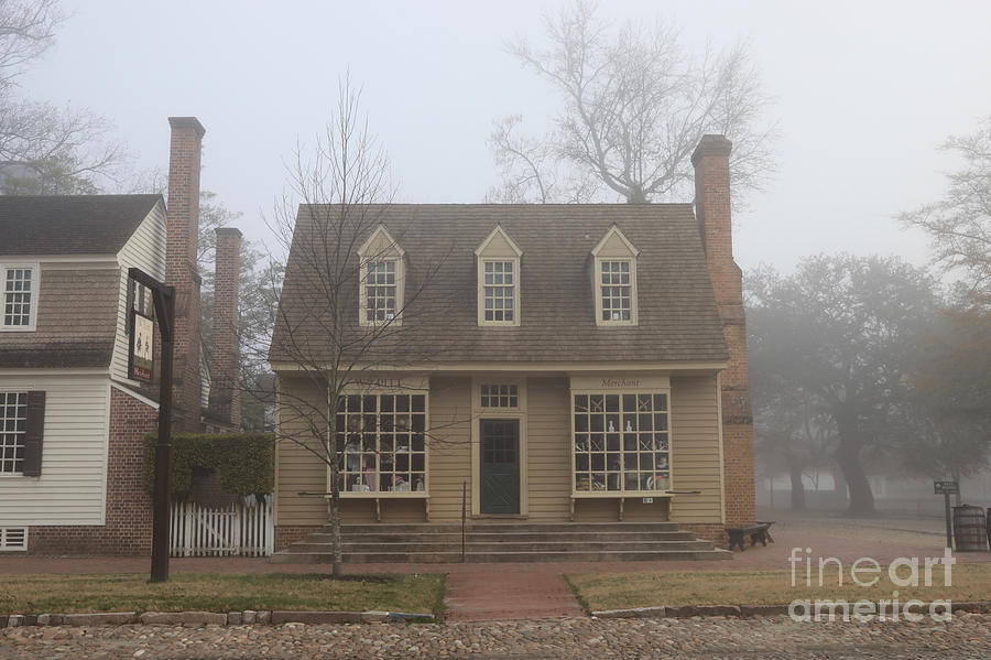The William Pitt Store in Fog by Rachel Morrison