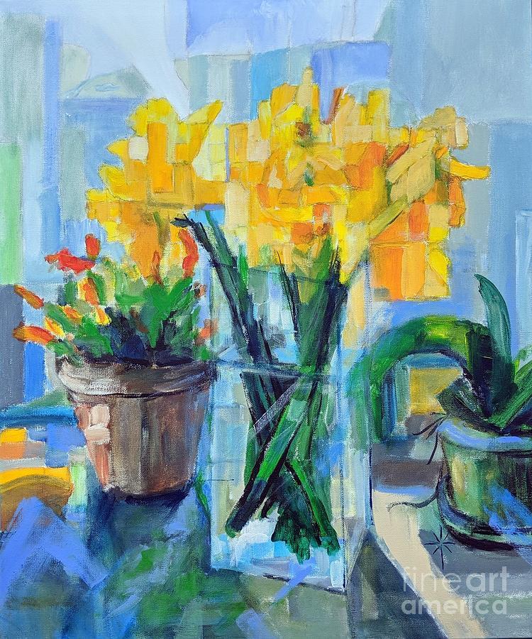 the window sill by Jodie Marie Anne Richardson Traugott          aka jm-ART