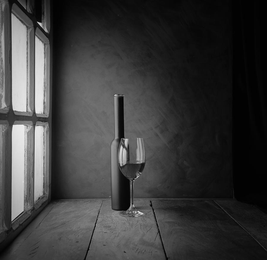 Composition Photograph - The Wine by Luiz Laercio