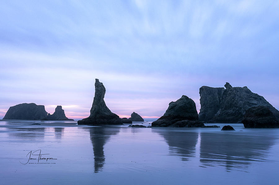 Bandon Beach Photograph - The Witches Hat by Jim Thompson