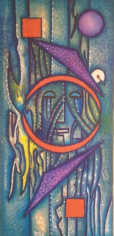 Ayiiboo The Witness Painting