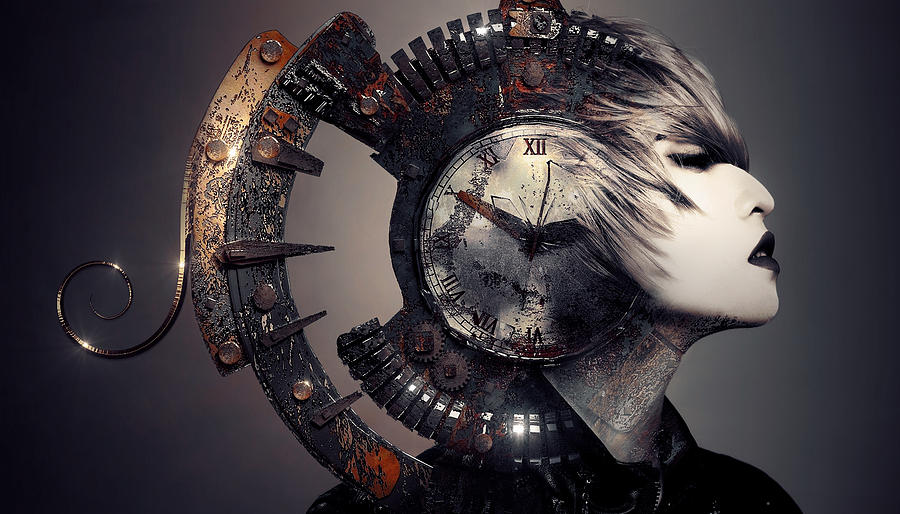 The Woman That Time Forgot Digital Art