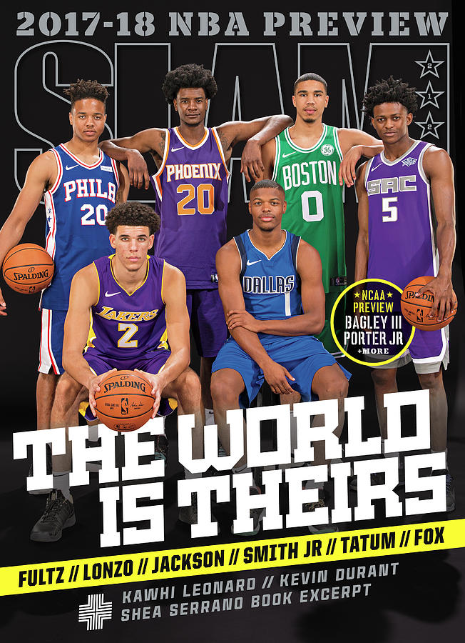 The World Is Theirs SLAM Cover Photograph by Getty Images