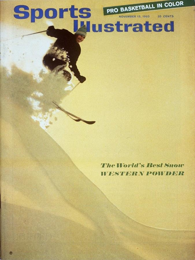 The Worlds Best Snow Western Powder Sports Illustrated Cover Photograph by Sports Illustrated