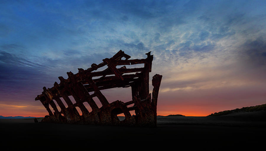 The Wreck of the Peter Iredale III by John Poon