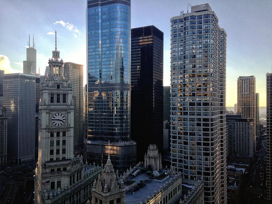 The Wrigley Building In City Against Sky Photograph by Kweku Bentum / Eyeem