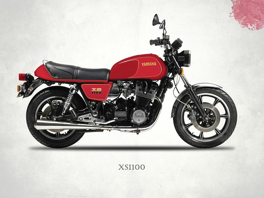 Motorcycle Photograph - The Yamaha Xs1100 by Mark Rogan