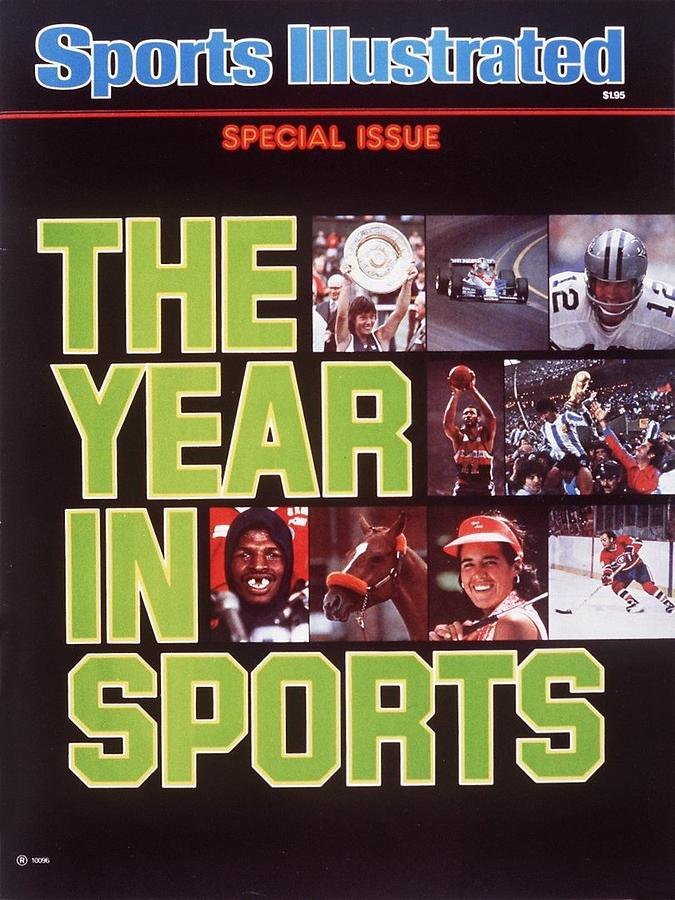 The Year In Sports Issue... Sports Illustrated Cover Photograph by Sports Illustrated