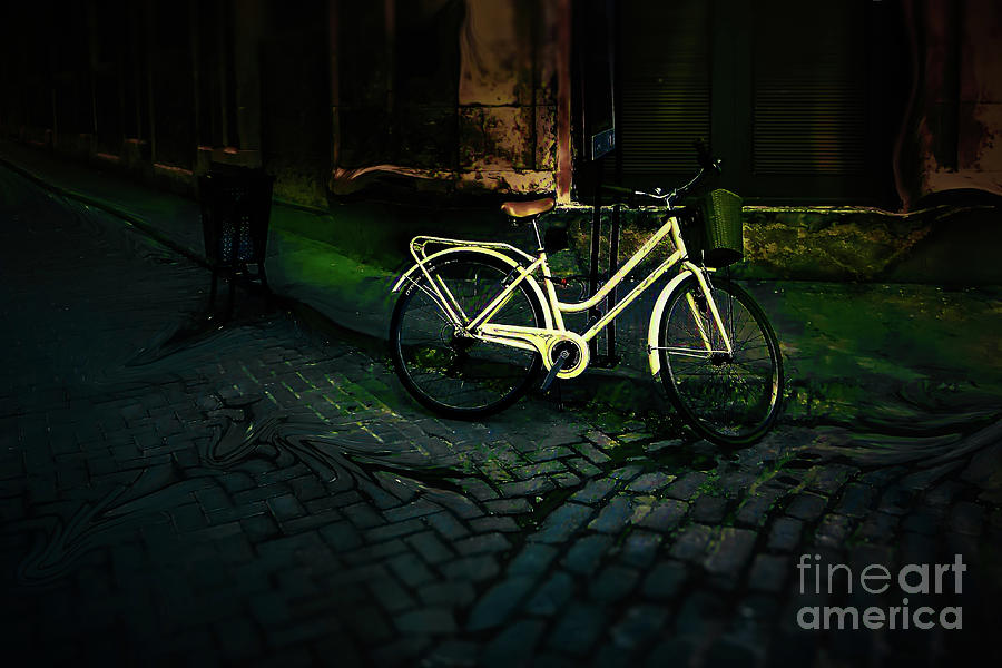 The Yellow Bicycle by Stefan H Unger
