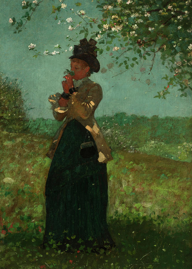 Winslow Homer Painting - The Yellow Jacket, 1879 by Winslow Homer