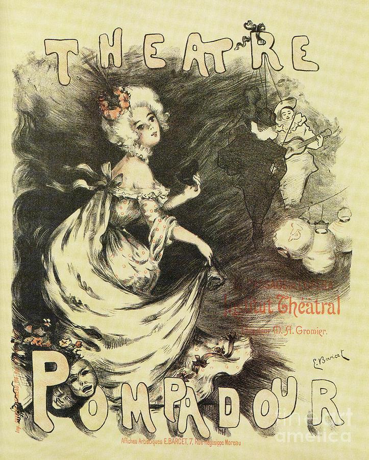 Theatre Pompadour Paris 1898 by Aapshop